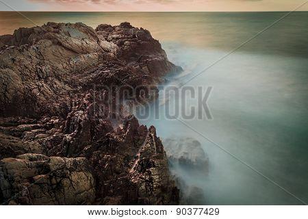 Still Rocks And The Sea Passes