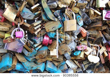 Love Locks - Paris