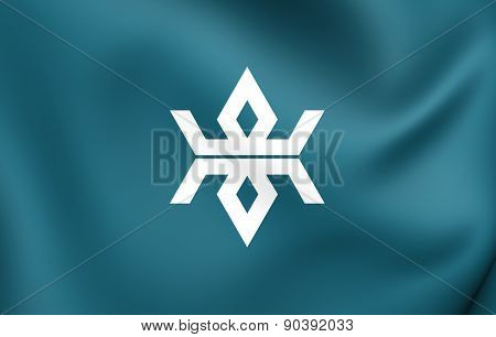 Flag Of Iwate Prefecture, Japan.