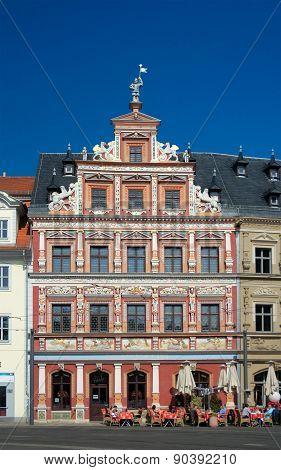 Zum Breiten Herd House, Fischmarkt, Erfurt, Germany