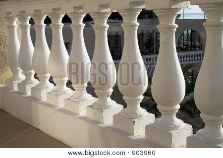 Greek Style Balustrade