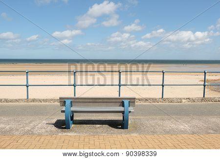 Bench, Beach View.