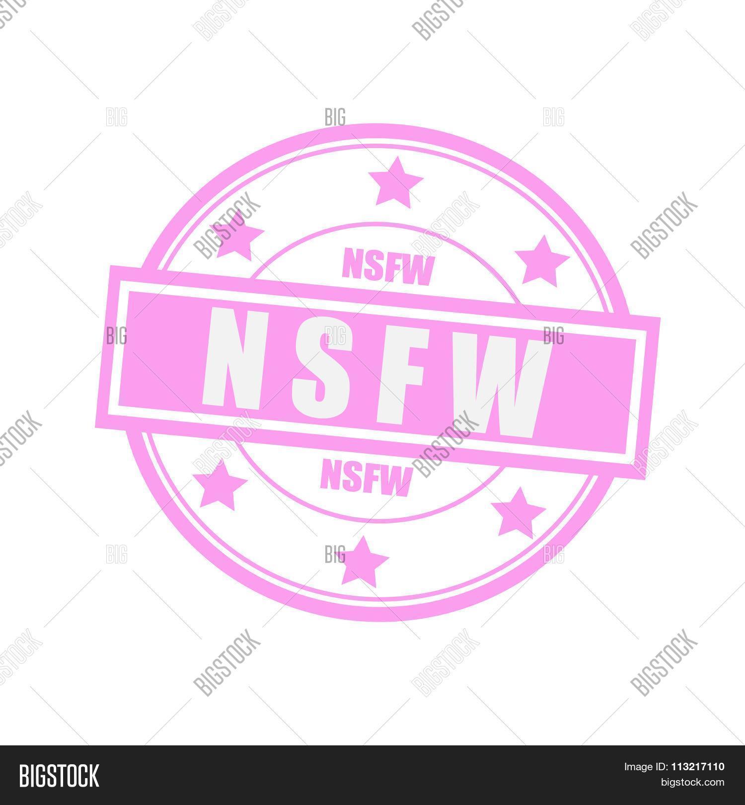 Nsfw White Stamp Text Image & Photo (Free Trial) | Bigstock