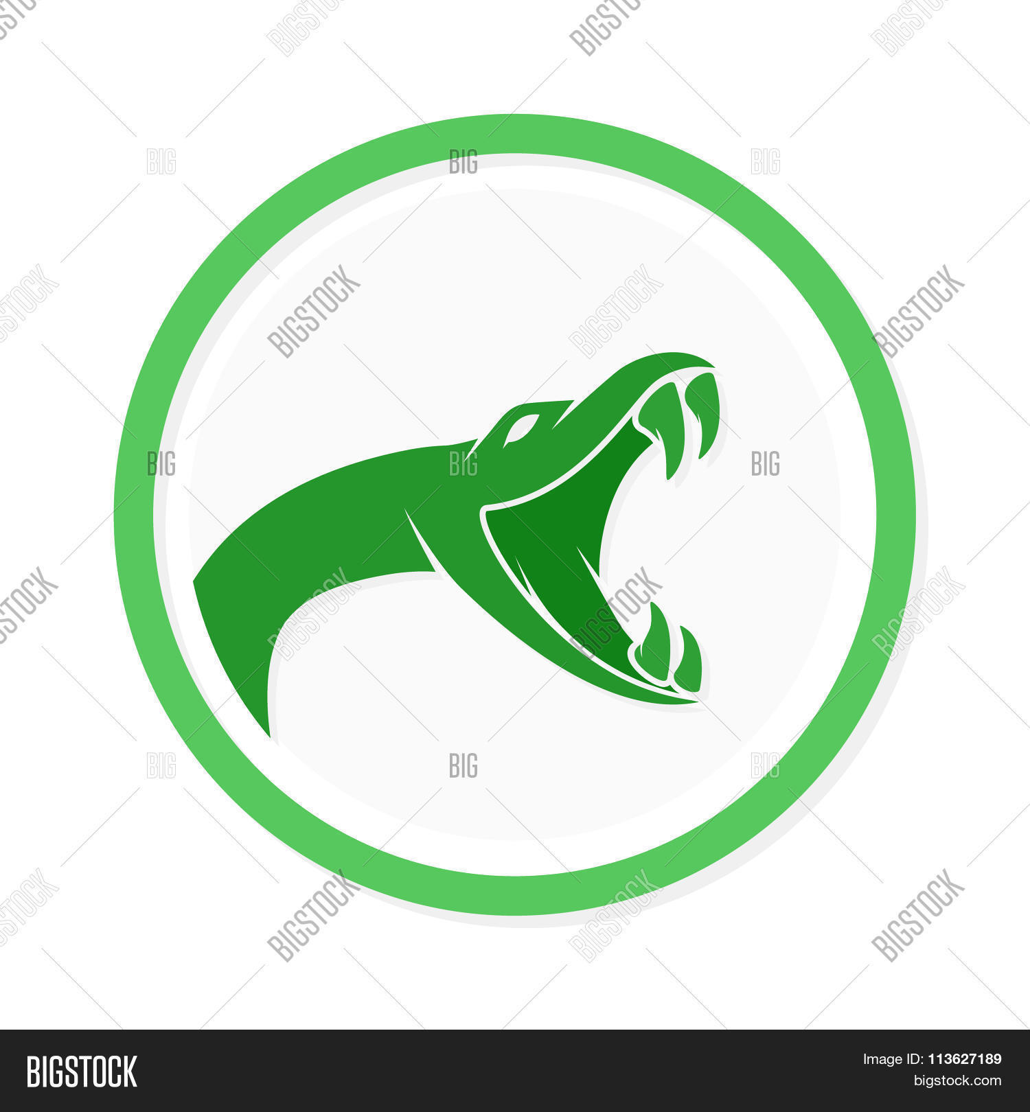Vector Snake Logo Vector & Photo (Free Trial) | Bigstock