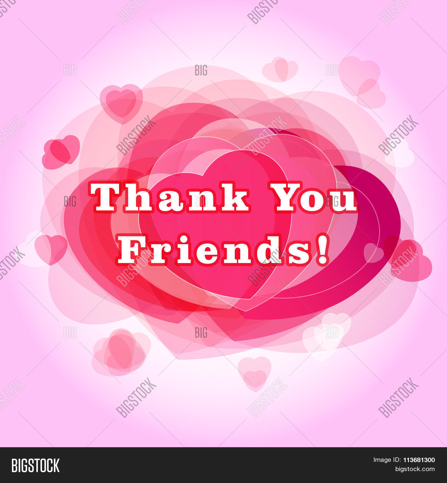 Thank You Followers Vector Photo Free Trial Bigstock