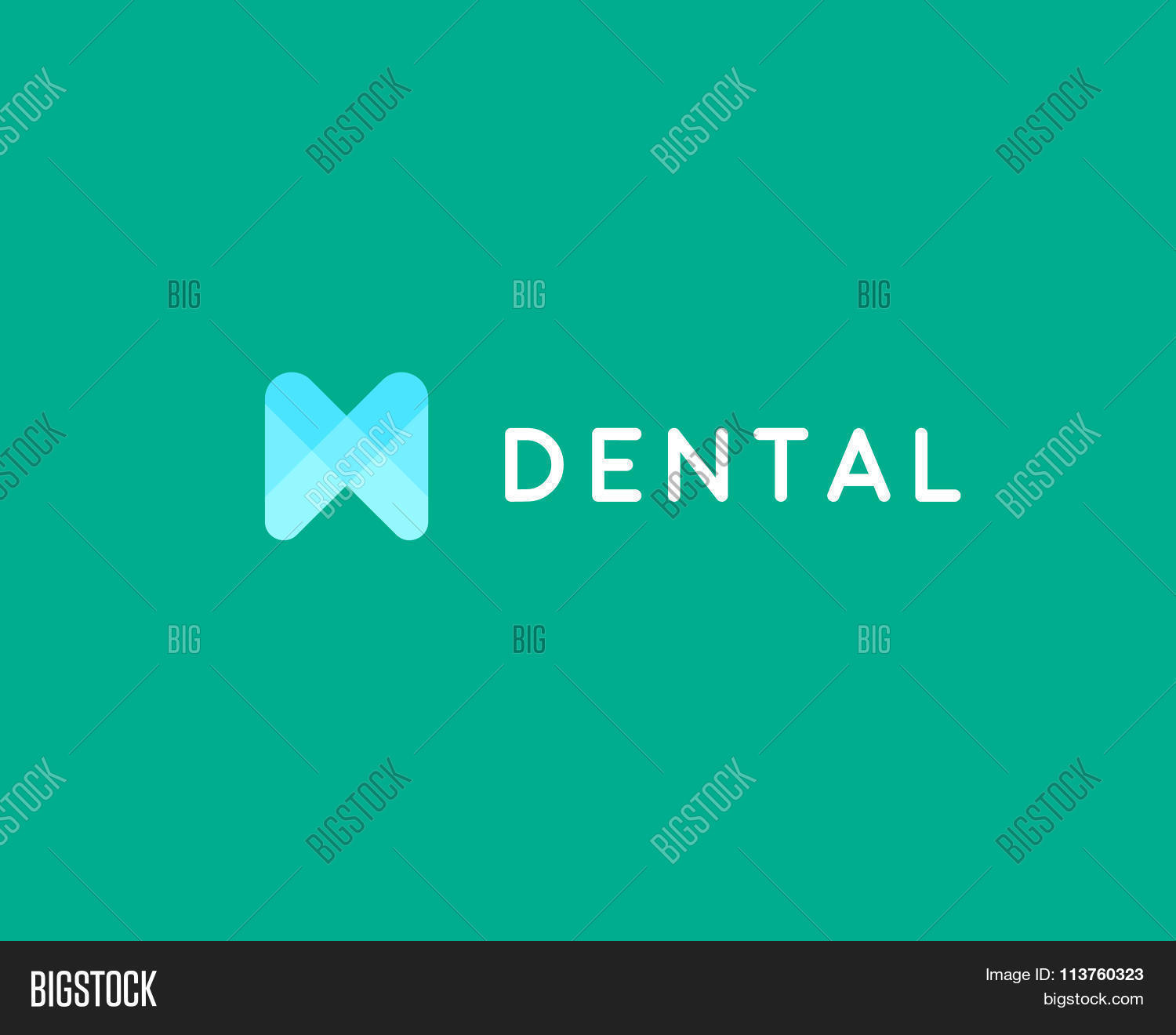 Dentist Logo Design Vector Photo Free Trial Bigstock
