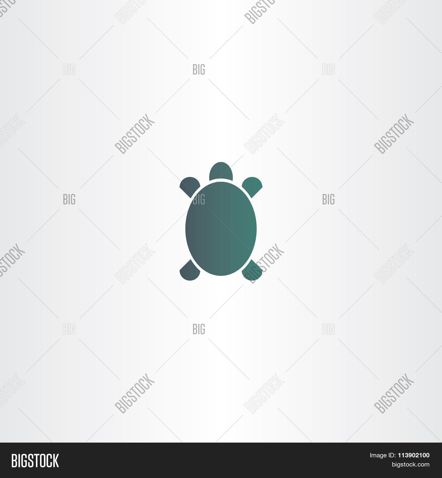 Turtle Logo Vector Vector Photo Free Trial Bigstock