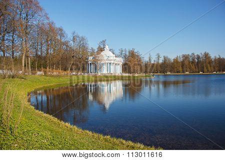 Catherine Park,  St. Petersburg. Pavilion Grotto.