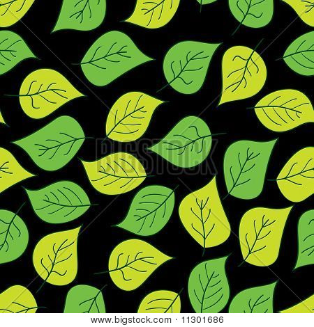 Abstract Background Of Green Leaf