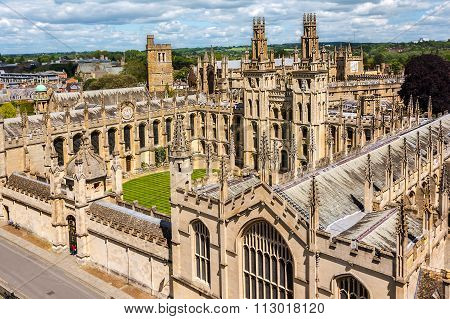 All Soul College, Oxford University