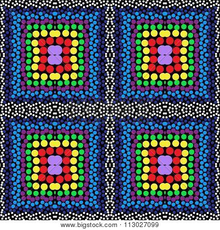 Beads Seamless Background Pattern