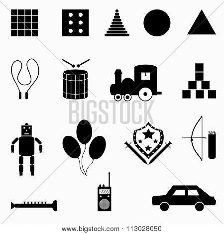 Collection Of Abstract Symbols Vector Illustration