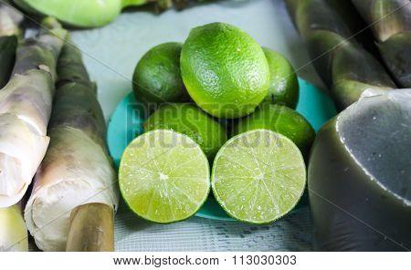 Lemon And Bamboo Shoots