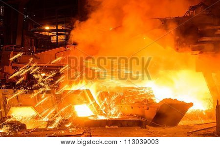 Working At The Metallurgical Plant