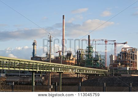 factory buildings, Frankfurt, Germany