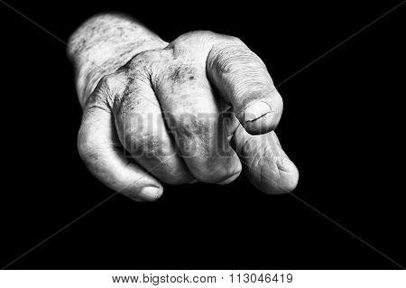 Senior Hands