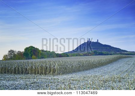 Landscape With A Castle In The Background
