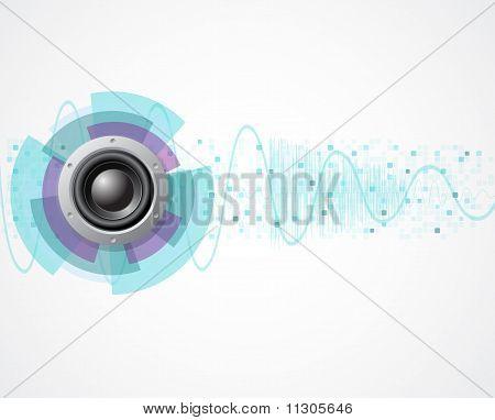 Eps10 Music White Background