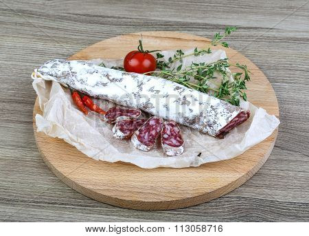 Spanish Sausages- Fuet