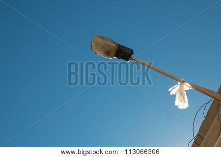 Streetlamp With Enlightened Detail