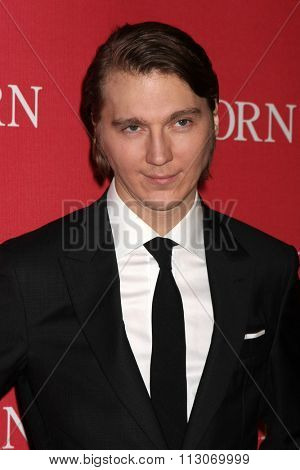 PALM SPRINGS - JAN 2:  Paul Dano at the 27th Palm Springs International Film Festival Gala at the Convention Center on January 2, 2016 in Palm Springs, CA