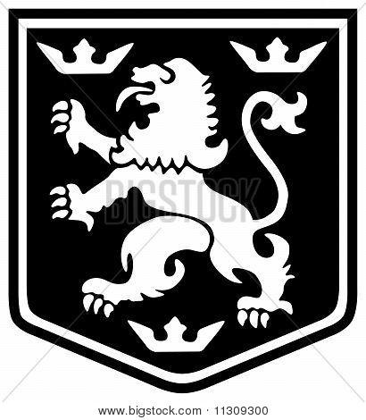 Heraldry Lion