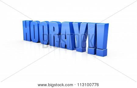 Hooray in Blue