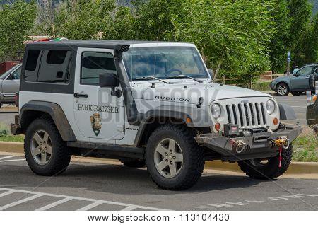 National Park Ranger Jeep