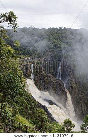 Barron Falls A Waterfall On The Barron River