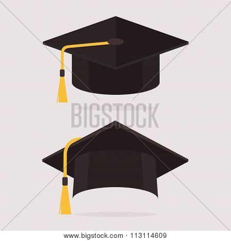 Graduation Cap Vector Set