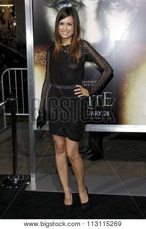 Torrey DeVitto at the Los Angeles Premiere of