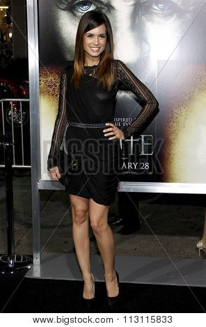 HOLLYWOOD, CALIFORNIA - January 26, 2010. Torrey DeVitto at the Los Angeles premiere of