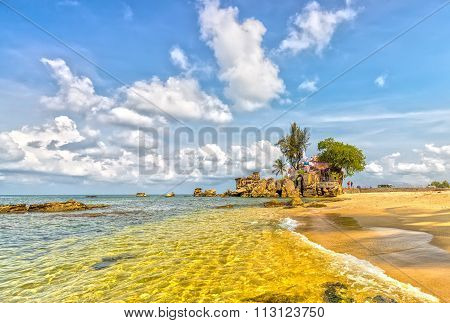 Phu Quoc landscape on a sunny day