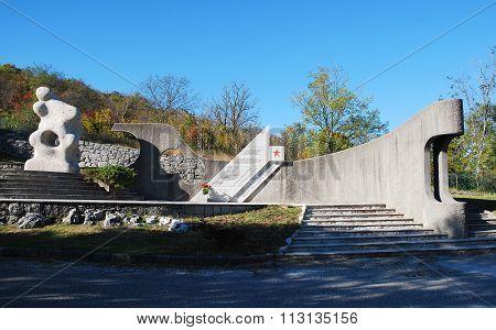 War Memorial In Palchisce