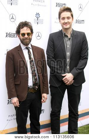 PALM SPRINGS - JAN 3:  Charlie Kaufman, Duke Johnson at the Variety Creative Impact Awards And 10 Directors To Watch Brunch at the The Parker Hotel on January 3, 2016 in Palm Springs, CA