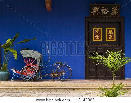Old rickshaw