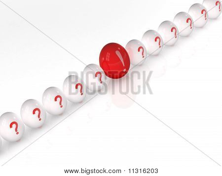 Conceptual Image Of Easter Eggs Isolated On White