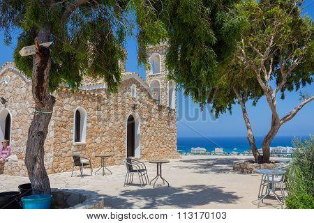 Church Of Profitis Elias (protaras, Cyprus)
