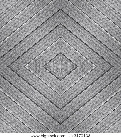 Aluminum Geometric Background