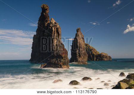 Rocks At Ribeiro Da Janela
