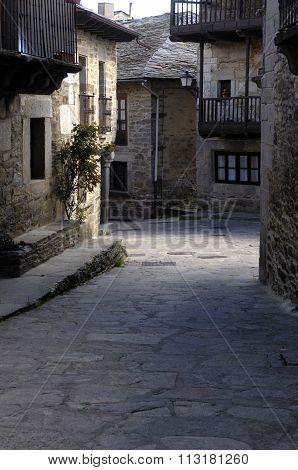 Medieval Town Of Puebla De Sanabria,zamora Province,