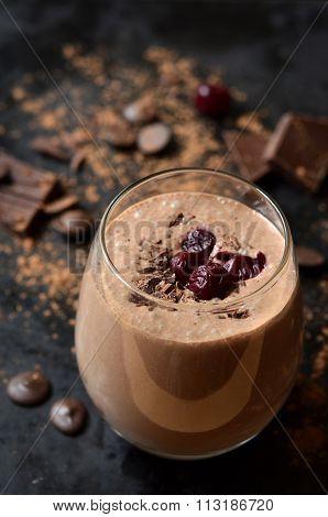 Delicious Chocolate Smoothie
