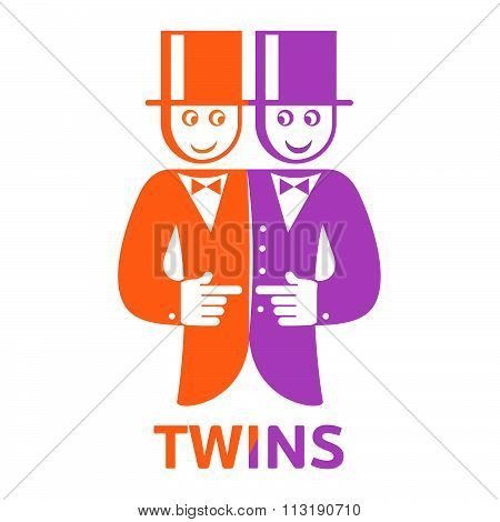 Twins deuce logo fun