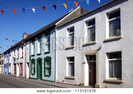 Terraced town houses