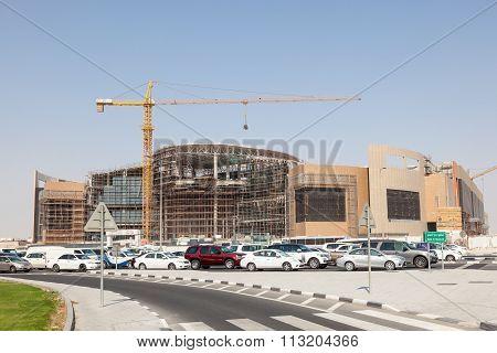 Twar Mall Construction Site In Doha, Qatar