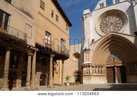 Cathedral Of Tarragona, Cataluña, Spain