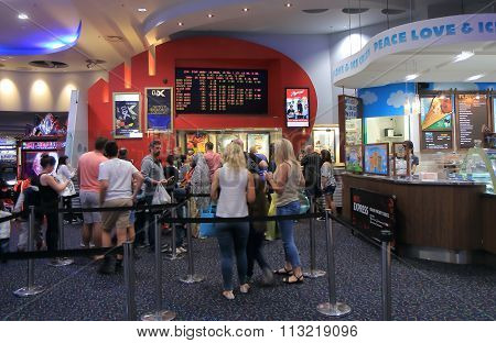 Hoyts movie cinema Australia