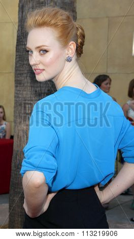 Deborah Ann Woll at the Los Angeles premiere of