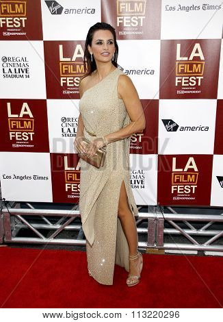 LOS ANGELES, CALIFORNIA - June 14, 2012. Penelope Cruz at the 2012 Los Angeles Film Festival premiere of