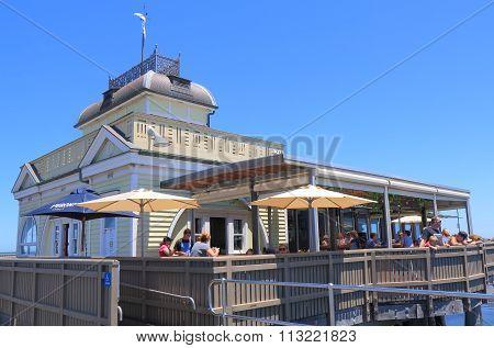 St Kilda beach restaurant Melbourne Australia